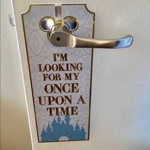 🆕 Disney Mickey/Minnie Mouse Door Handle Hanger